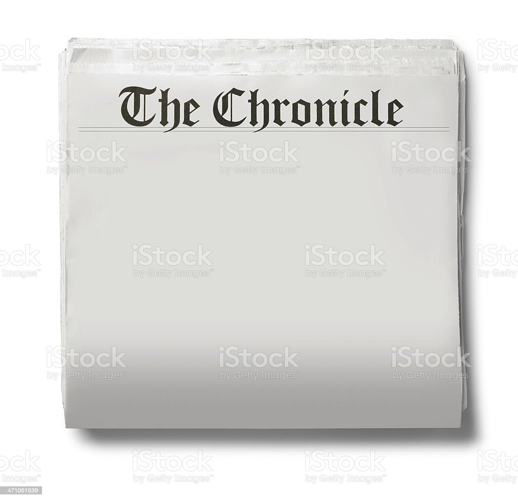 The Chronicle royalty-free stock photo