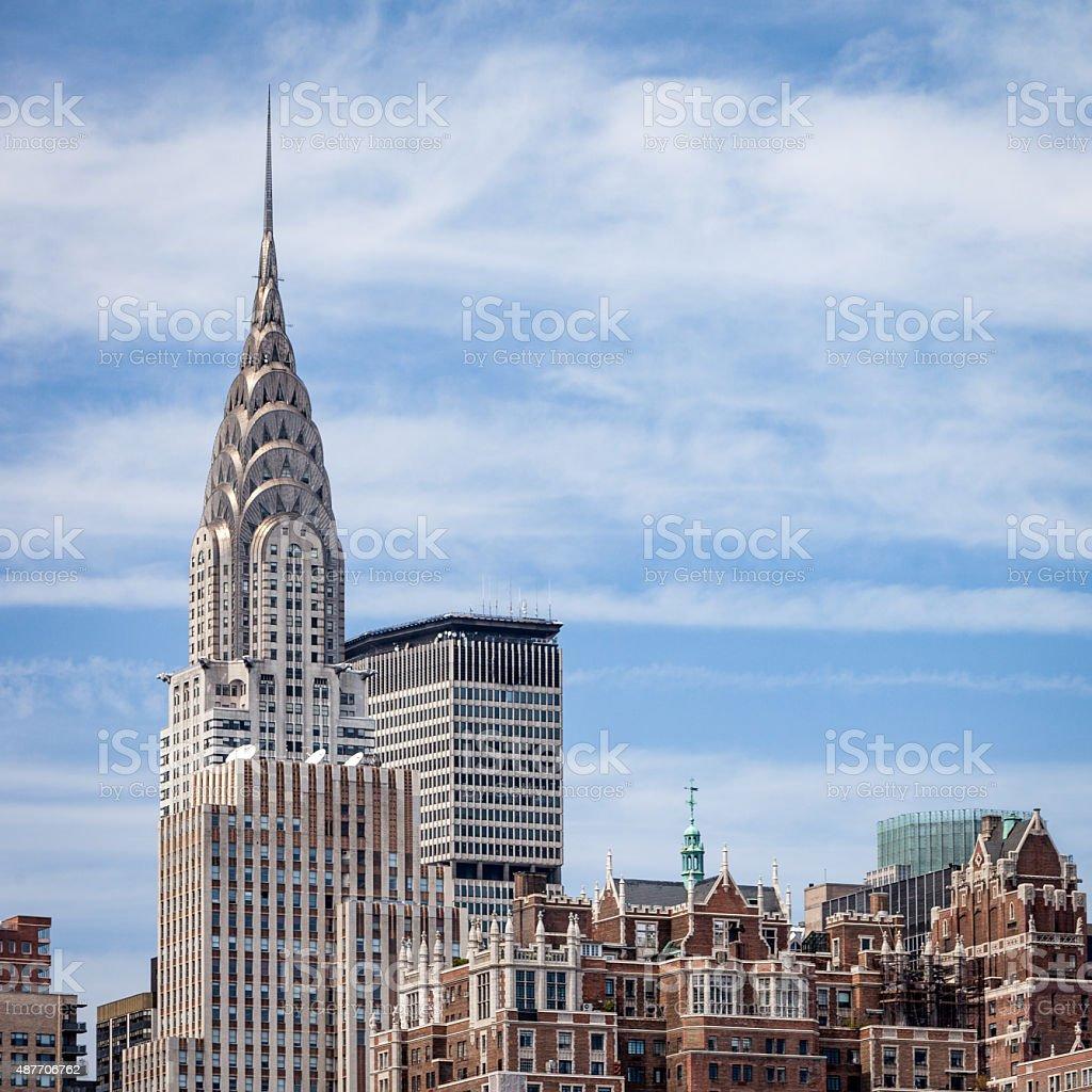The Chrysler Building, NYC, USA stock photo