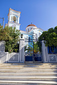 The church in Oinousses island, Greece