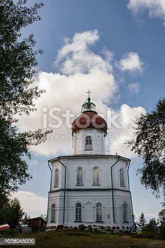 The Church of Ascension on Sekirnaya Hill, Solovetsky Monastery or Solovki.