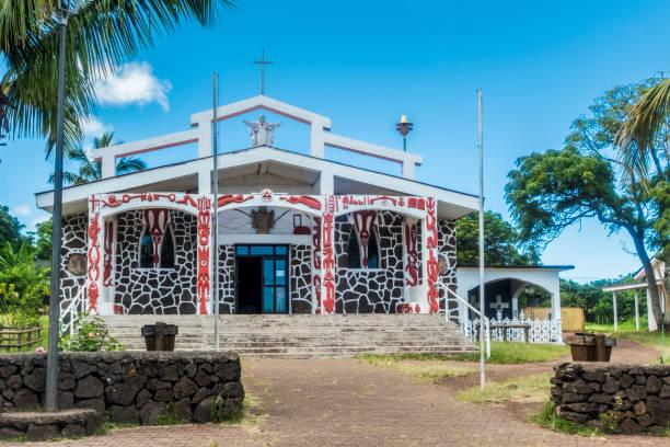 Die Kirche von Hanga Roa – Foto