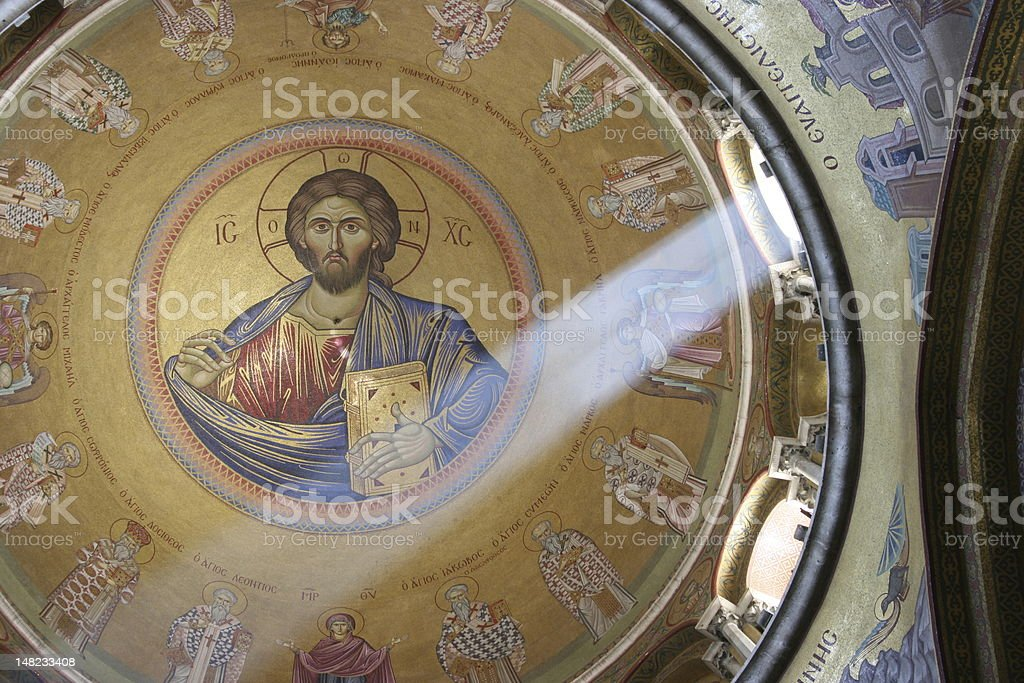 The church of Holy Sepulchre, Jerusalem stock photo
