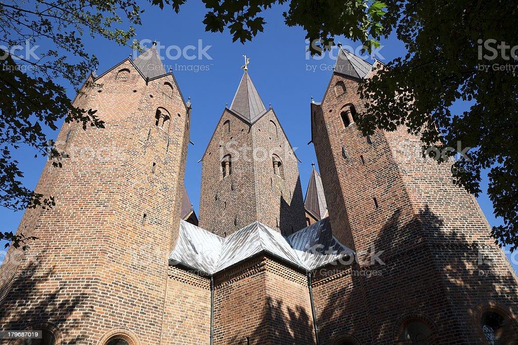 The Church of Our Lady, Kalundborg royalty-free stock photo
