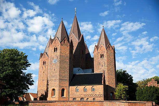 The Church of Our Lady, Kalundborg stock photo