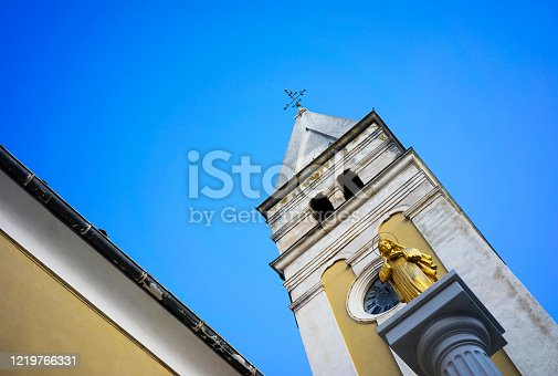 The Church of our Lady of Mercy Located in Buje, Istria Croatia.