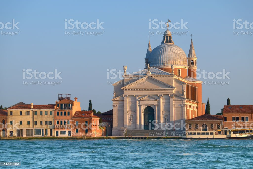 The Church of Santissimo Redentore stock photo
