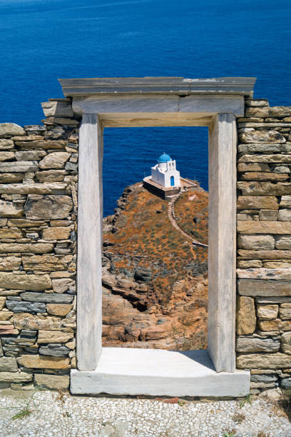 The Church of the Seven Martyrs on Sifnos island, Cyclades – Foto