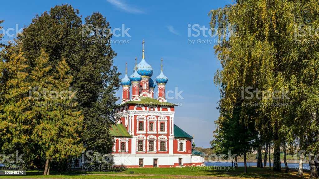 The Church of Tsarevich Dmitry on the Blood in Uglich