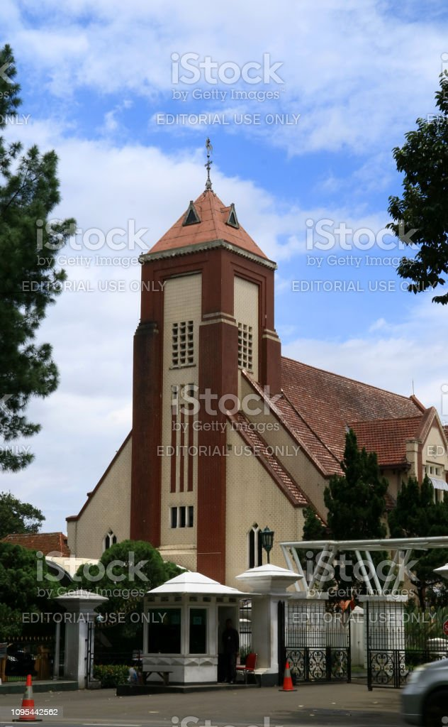 The Church of Zebaoth stock photo