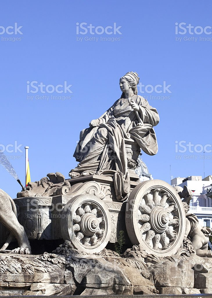 La Cibeles royalty-free stock photo