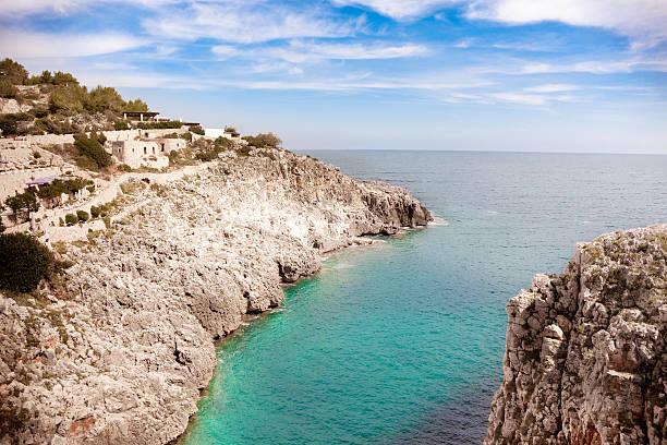 The Ciolo Inlet, Gagliano Del Capo - Lecce (Apulia, Italy) stock photo
