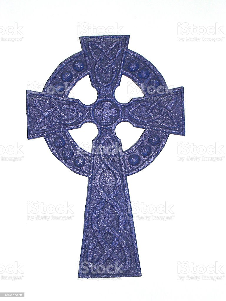 The Circle and the Cross royalty-free stock photo