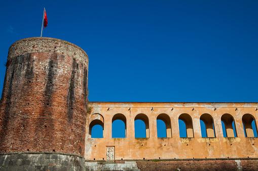 The Cittadella Nuova also called Giardino di Scotto an historical fortress from the 14th century in Pisa
