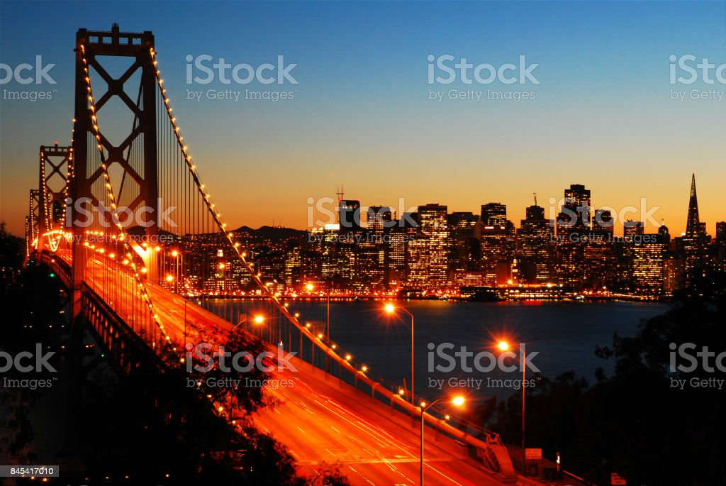 The City By the Bay stock photo
