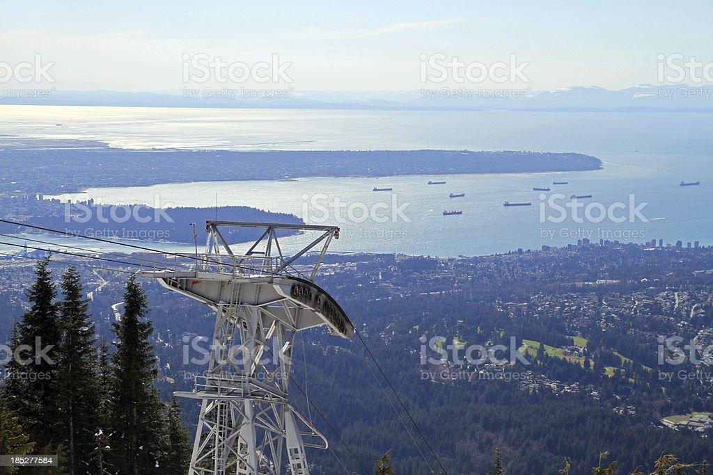 Die Stadt von oben – Foto