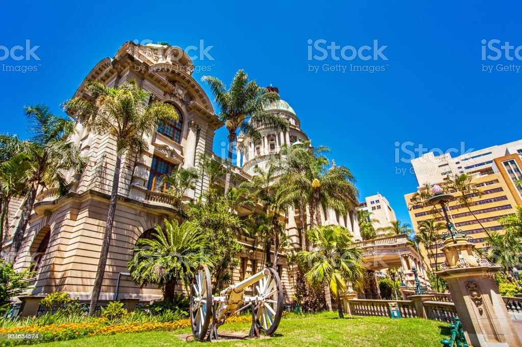 The City Hall in Durban South Africa stock photo