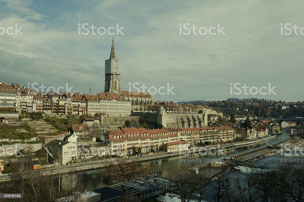 La ville de Berne photo libre de droits