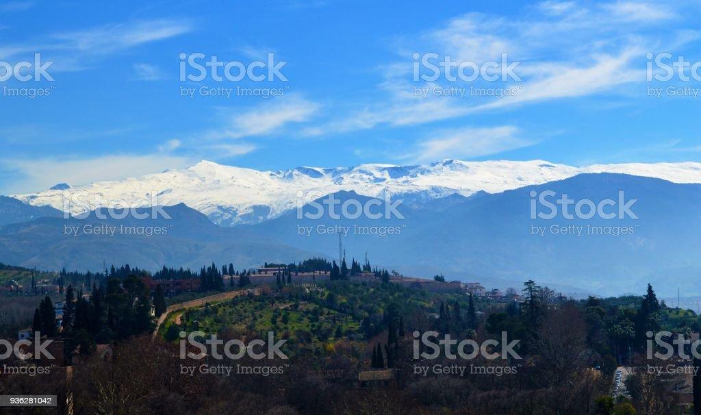 Die Stadt Granada. – Foto