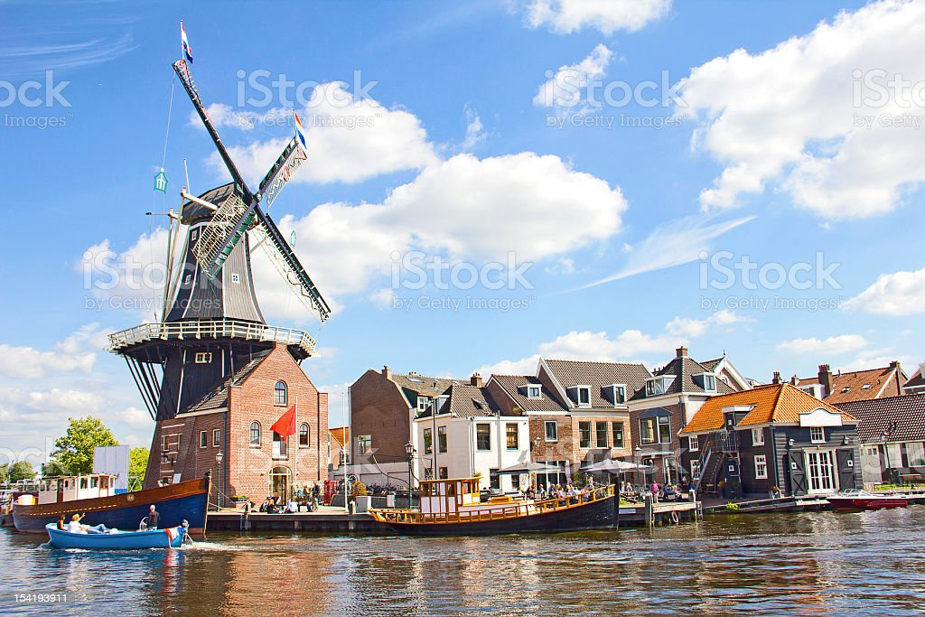 Haarlem, den Niederlanden – Foto