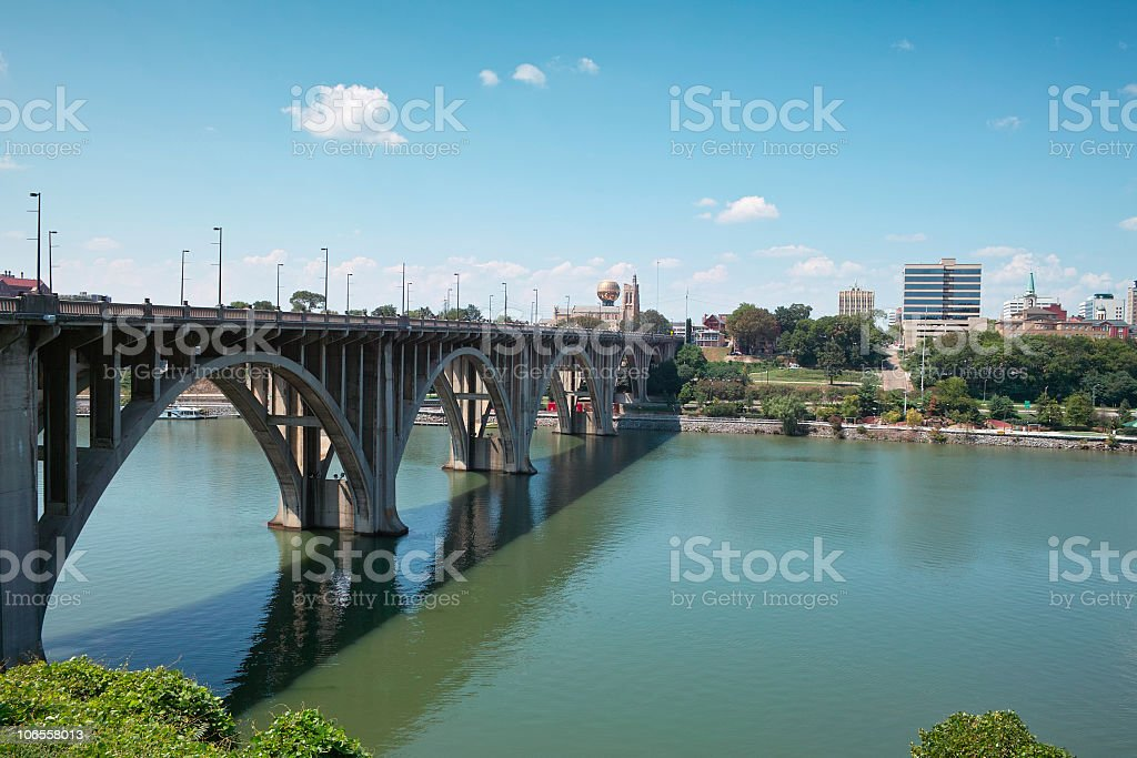The City of Knoxville stock photo