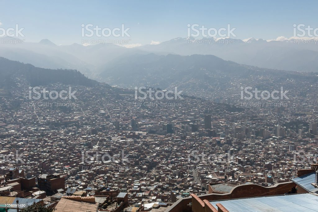 The City Of La Paz High In The Andes Mountains In Bolivia Stock Photo Download Image Now Istock