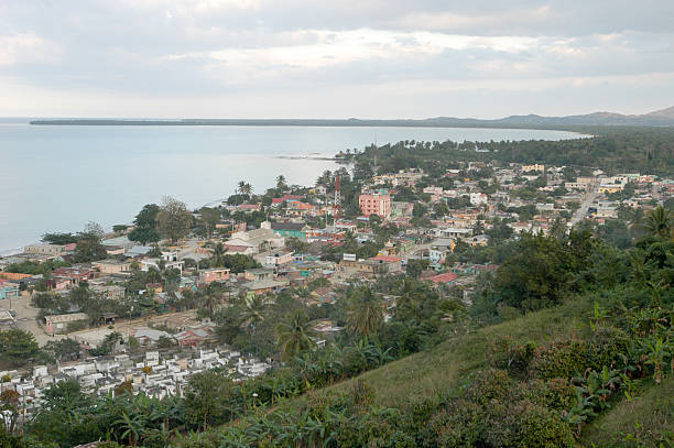 The city of Miches The city of Miches on Dominican Republic round loaf stock pictures, royalty-free photos & images