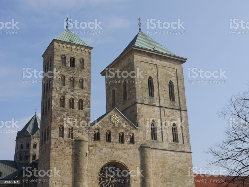 the city of osnabrueck in Germany the city of osnabrueck in Germany Cathedral Stock Photo