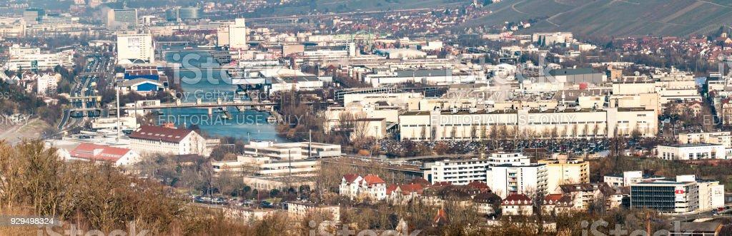 The city of Stuttgart is hosting Germanies biggest companies like...