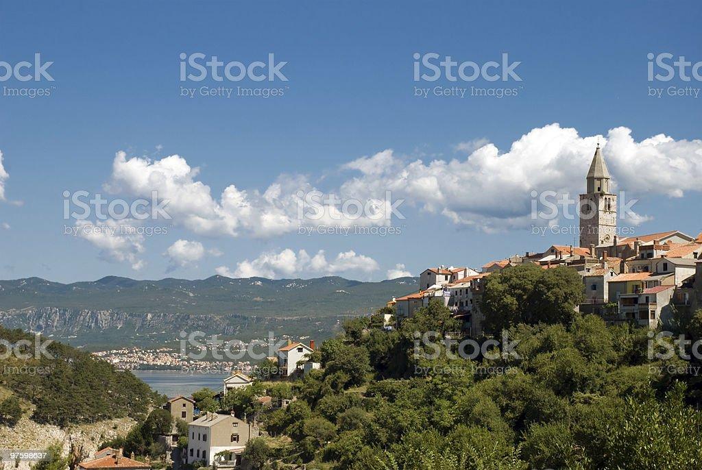 The city of Vrbena royalty-free stock photo