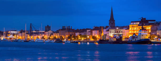 The City of Waterford in the Republic of Ireland stock photo