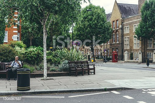 London/UK-30/7/18: The City of Westminster College on Elgin Avenue. The city of Westminster College is a further education college located in the borough of Westminster, central London