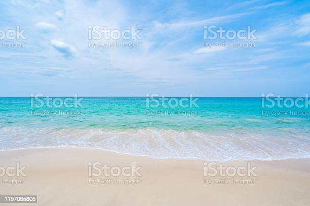Photo of The clean and beautiful white beach of southern Thailand