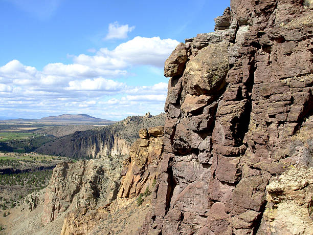 The Cliffs at Smith Rock stock photo
