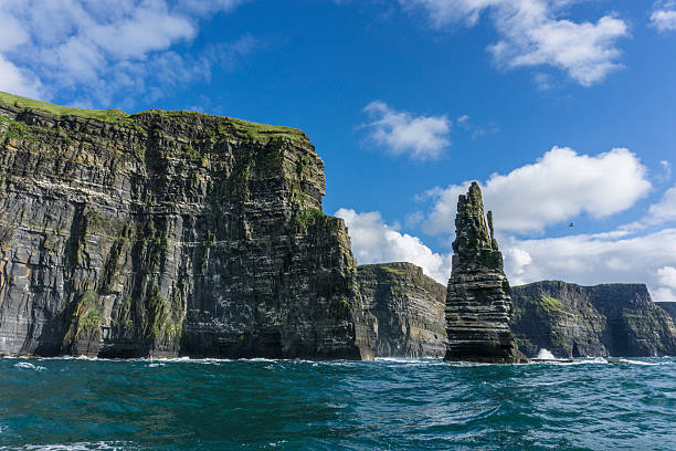 the cliffs of moher - cliffs of moher stock pictures, royalty-free photos & images