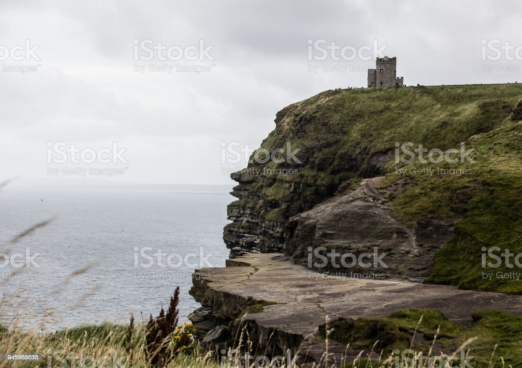 The cliffs of Moher stock photo
