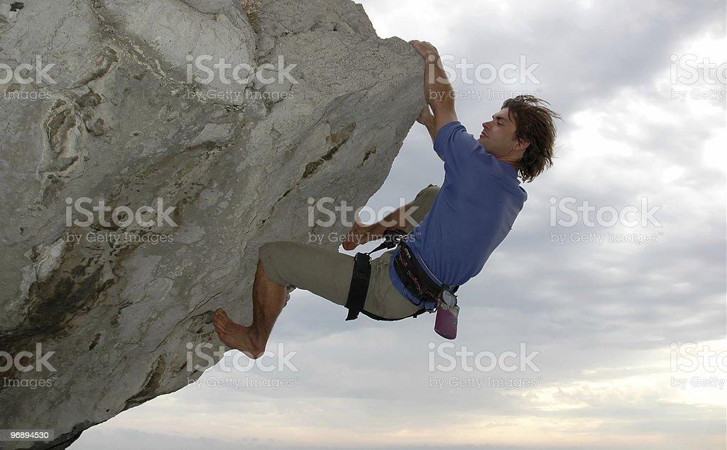 The climb #2 royalty-free stock photo