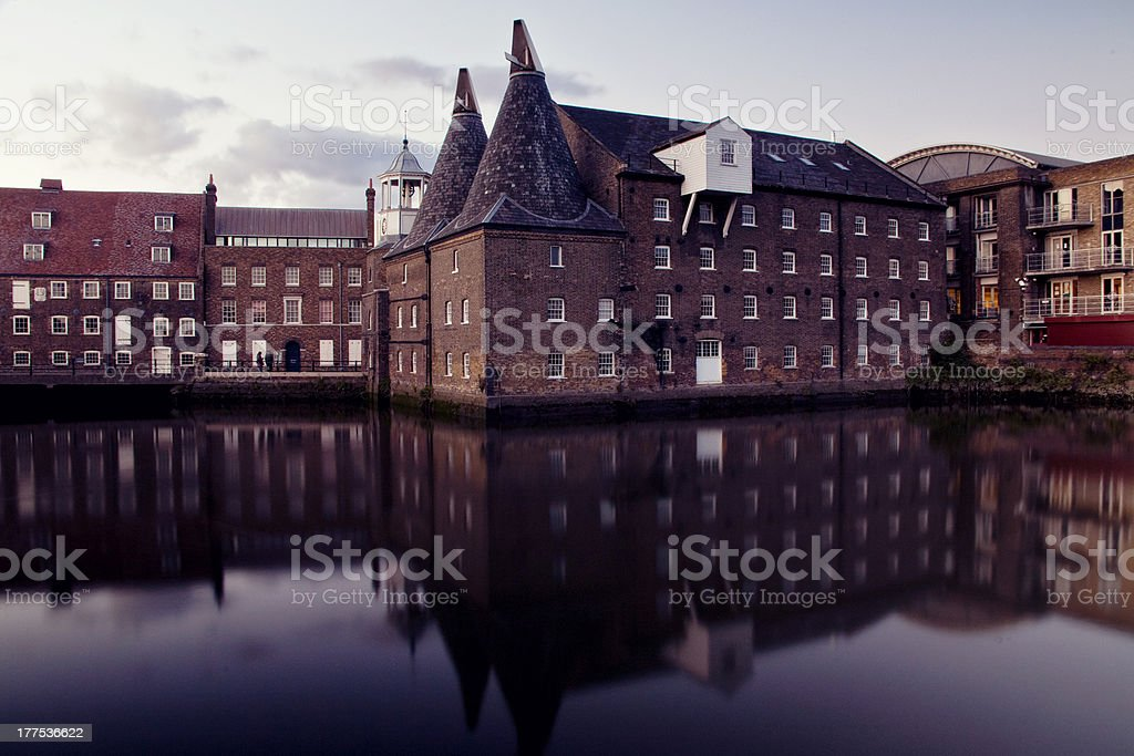 The Clock Mill stock photo