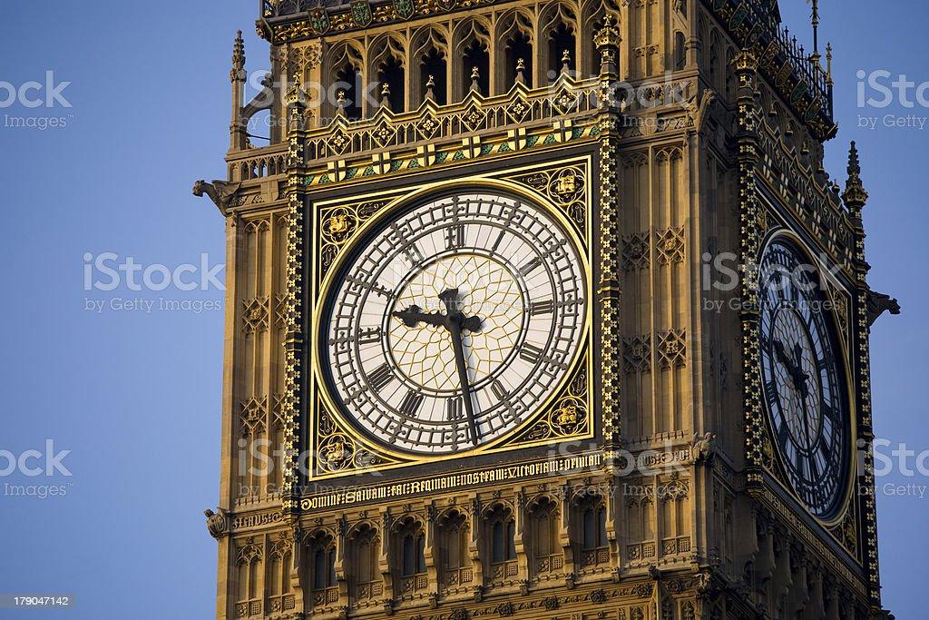 Die clockface von Big Ben – Foto