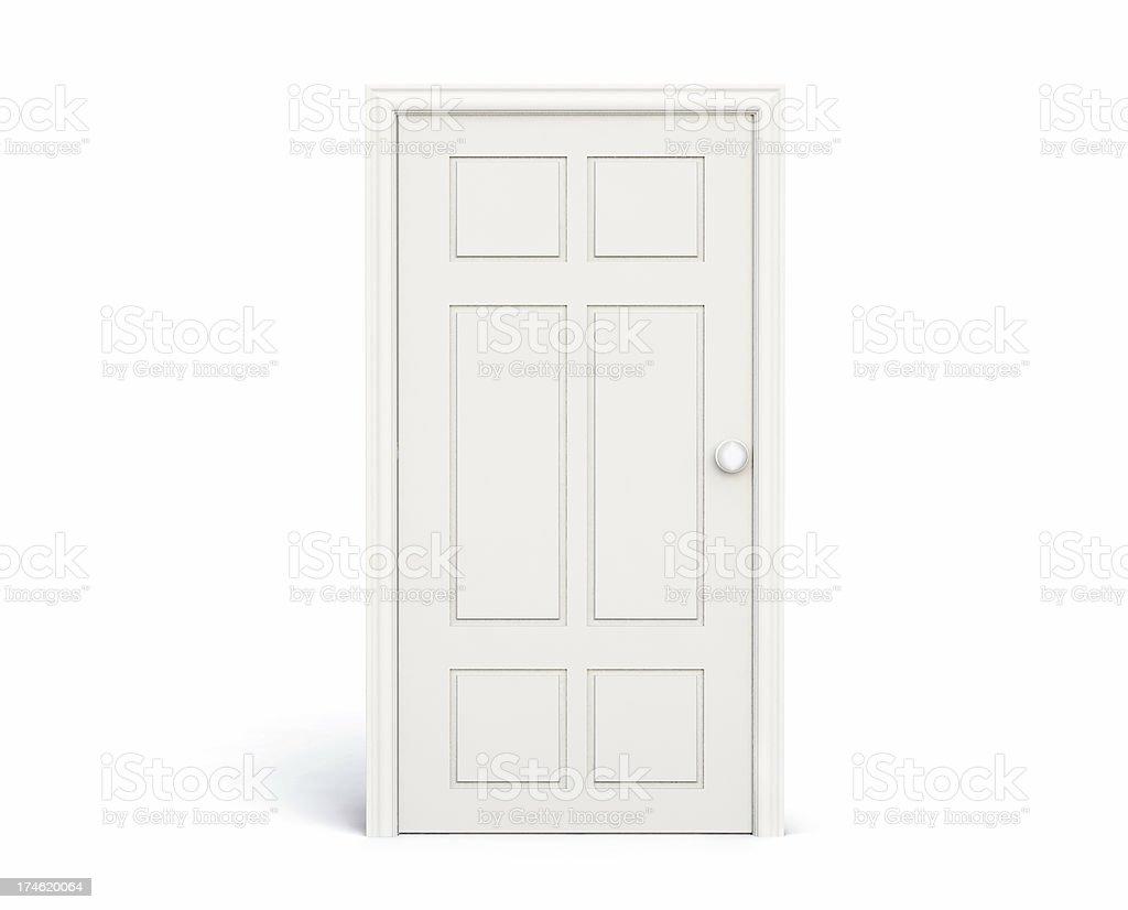 The Closed Door royalty-free stock photo