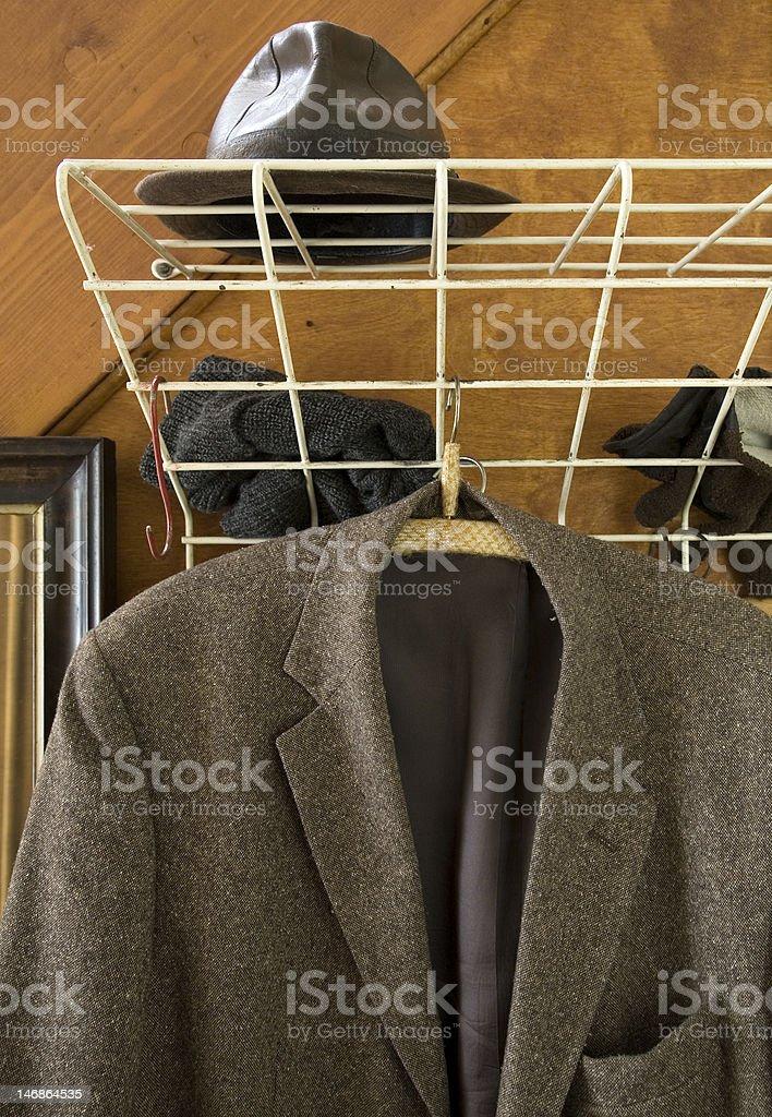 the closet stock photo