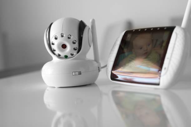 Das Closeup Babyphone für die Sicherheit des Babys – Foto