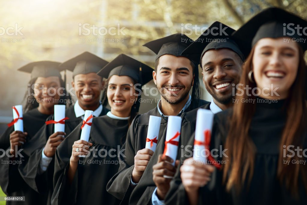 The closing of one chapter, the start of another stock photo