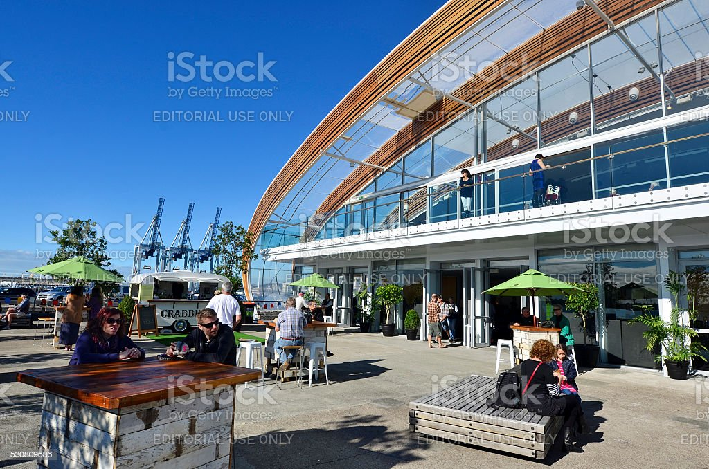 The Cloud event cente in Auckland waterfront  - New Zealand stock photo
