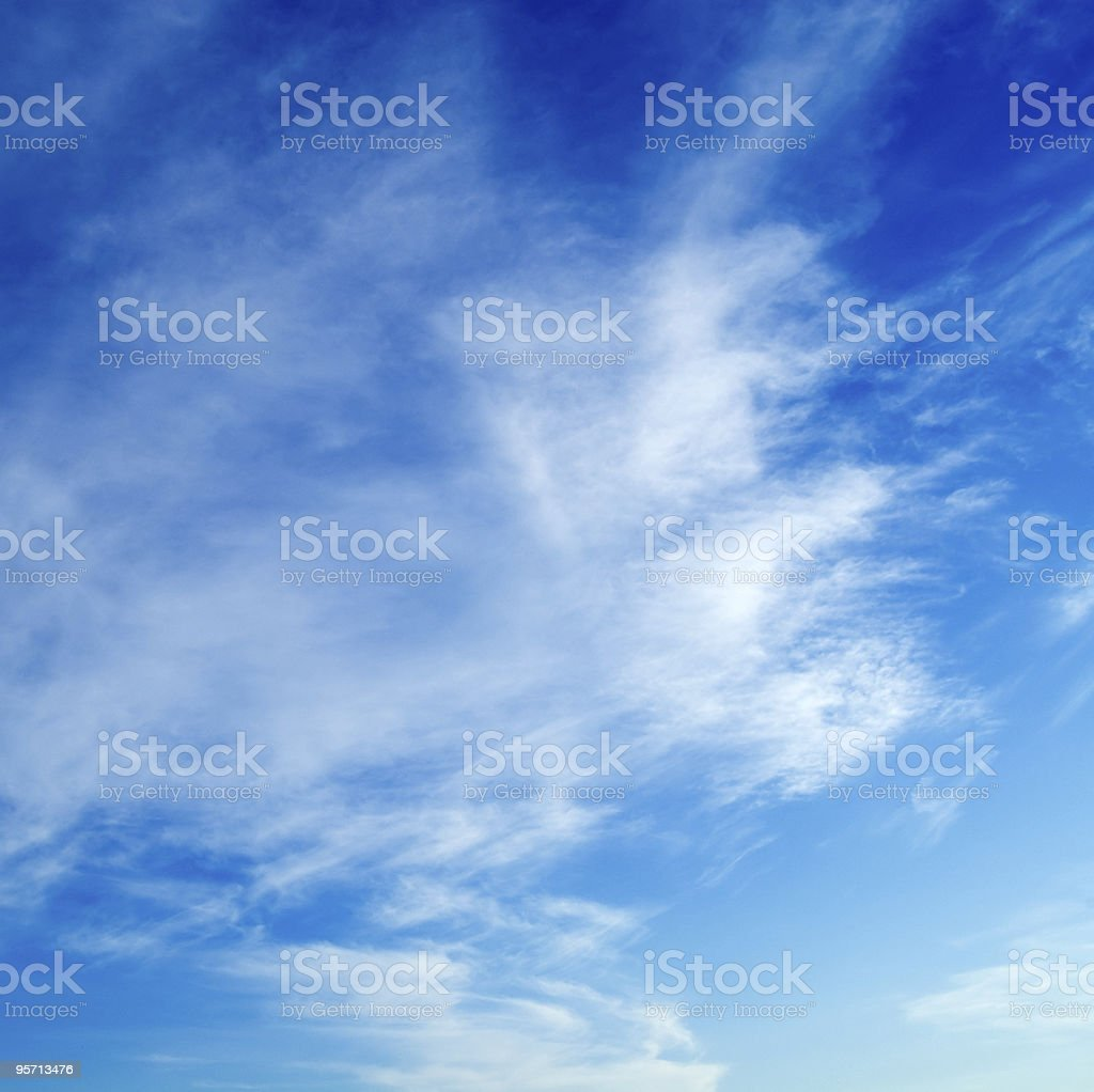 The clouds. royalty-free stock photo