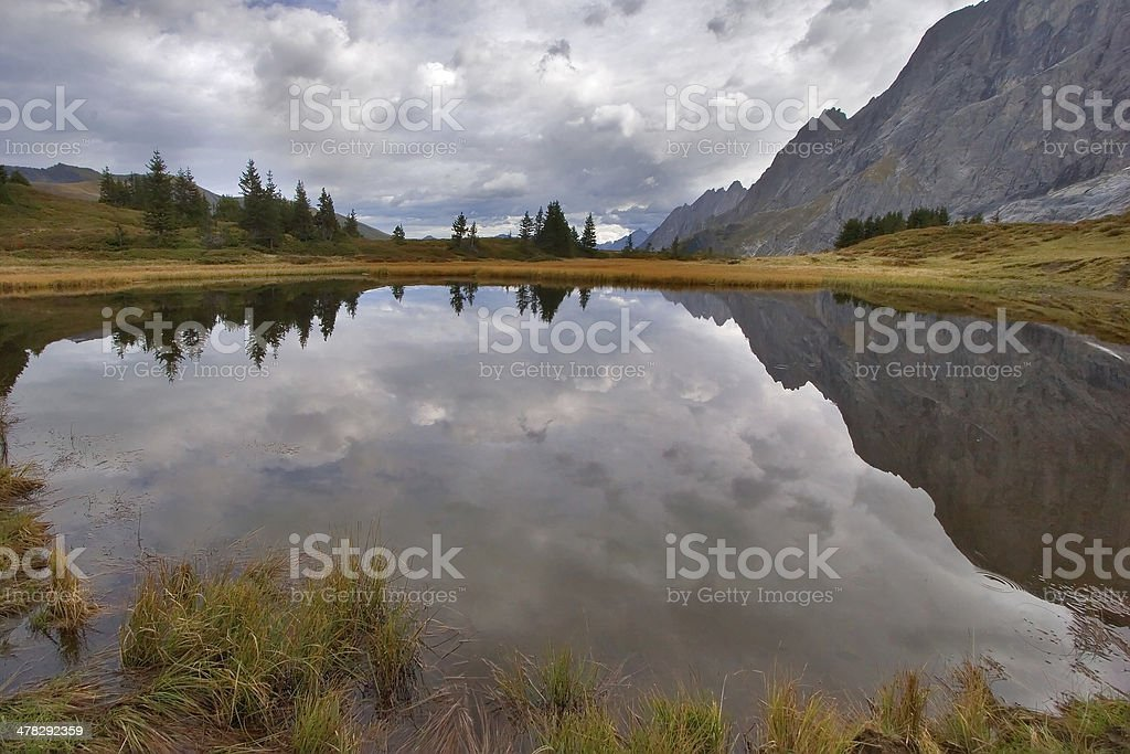 The cloudy sky royalty-free stock photo