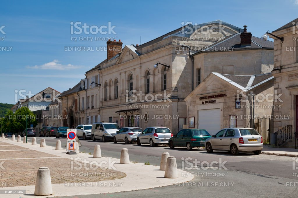 Les Clubs movie theater in Villers-Cotterêts - Royalty-free Aisne Stock Photo