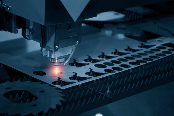 Le laser CNC coupe machine - Photo