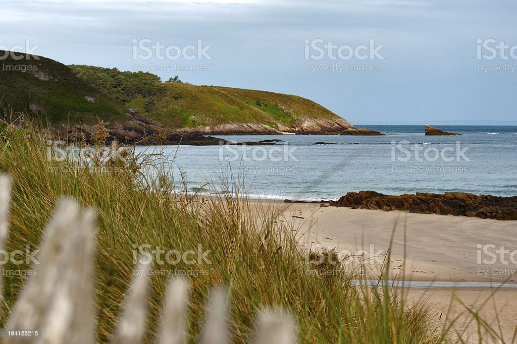 The coast close to Erquy royalty-free stock photo