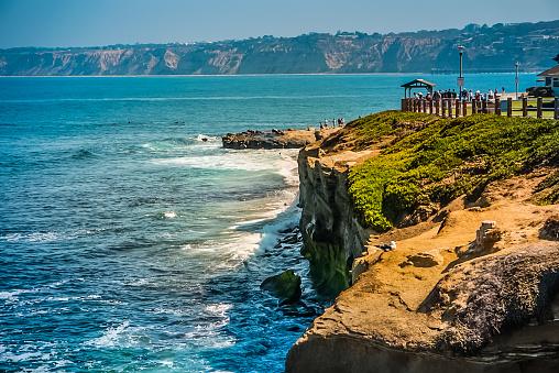 istock The Coastline of La Jolla Beach near San Diego, California 1130153666