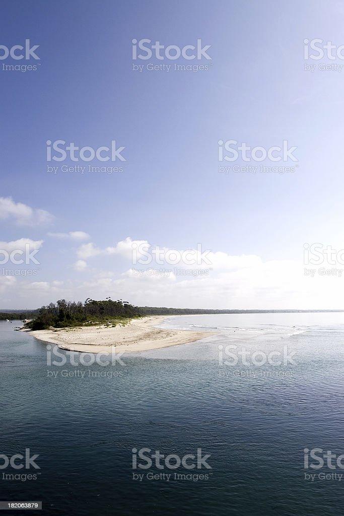 The Coastline royalty-free stock photo